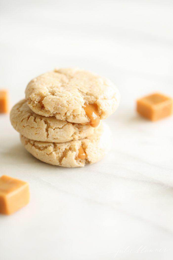 caramel-cheesecake-cookies-1 - Julie Blanner entertaining & home design that celebrates life