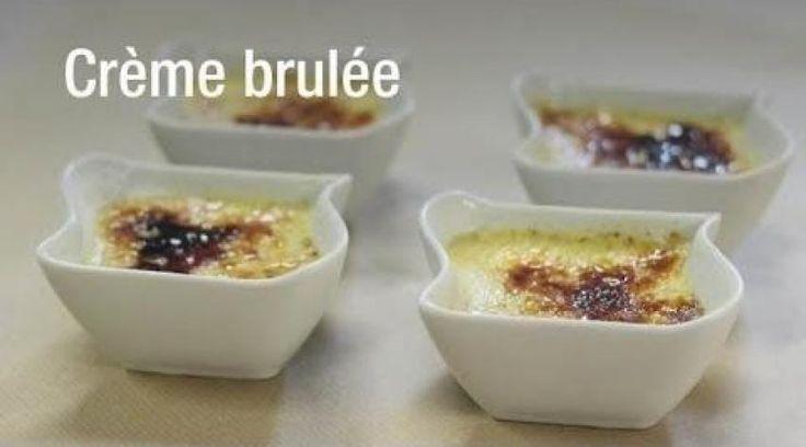 Crème brûlée au micro-onde | Cuisine AZ