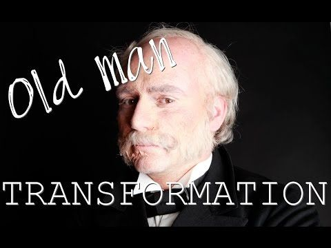 Old man MakeUp ♥ Make Up Transformation (Alter Mann Maske) - YouTube