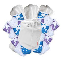 Pikapu newborn full time pack, 24 nappies plus accessories 2-6kg