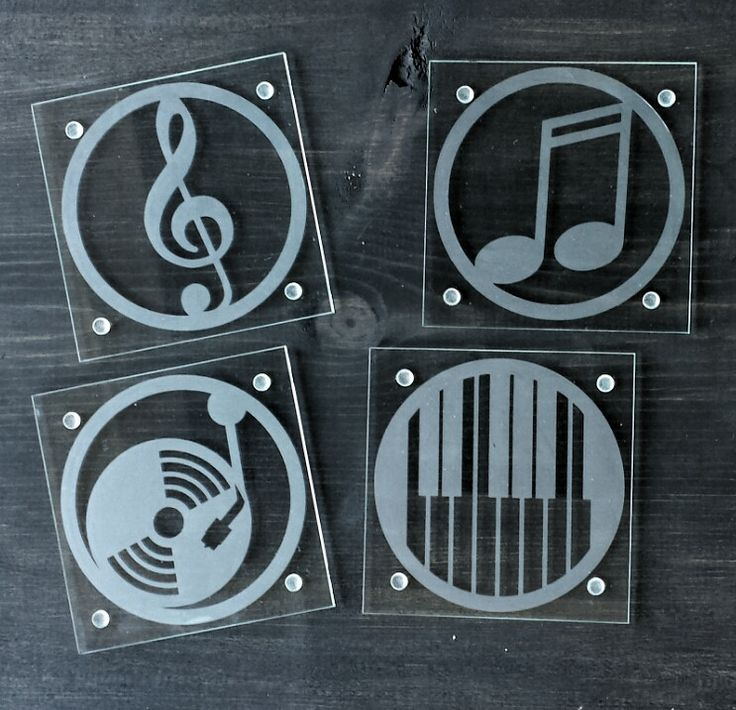 Etched Glass Coaster Set Yes Please Pinterest Glass