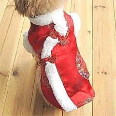 Royal Chinese New Year Clothes for Pets Dogs (Assorted Sizes)