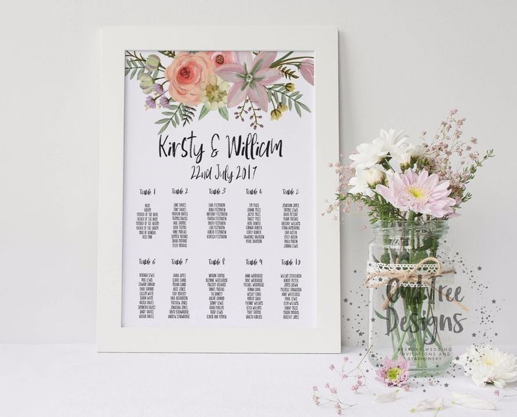 Best Wedding Table Plan Images On   Seating Charts