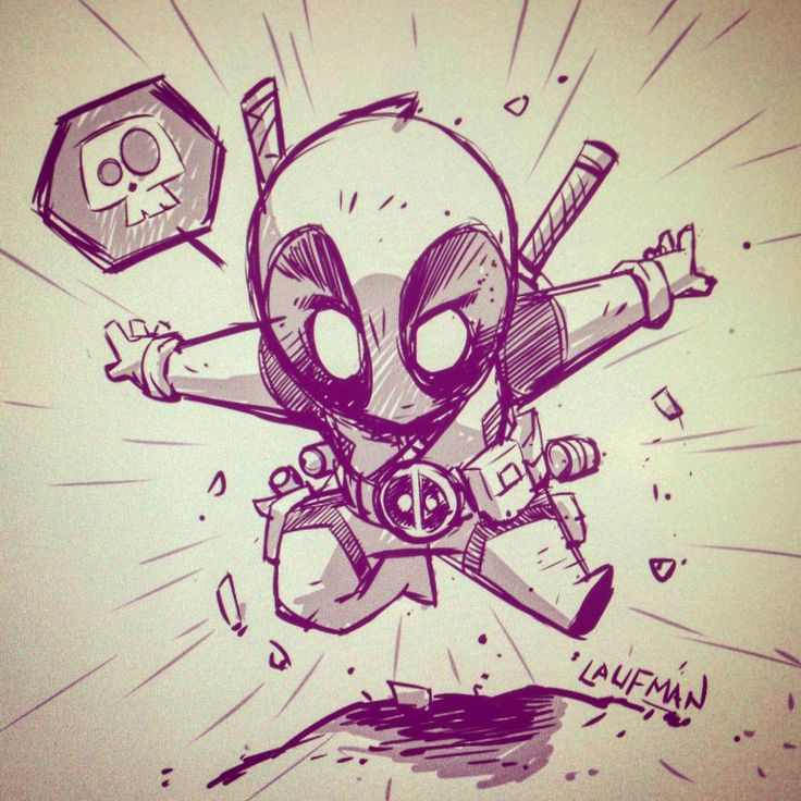 Deadpool Chibi by DerekLaufman on DeviantArt
