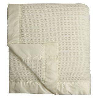 Buy Monarch Wool Blanket, Cream Online at johnlewis.com