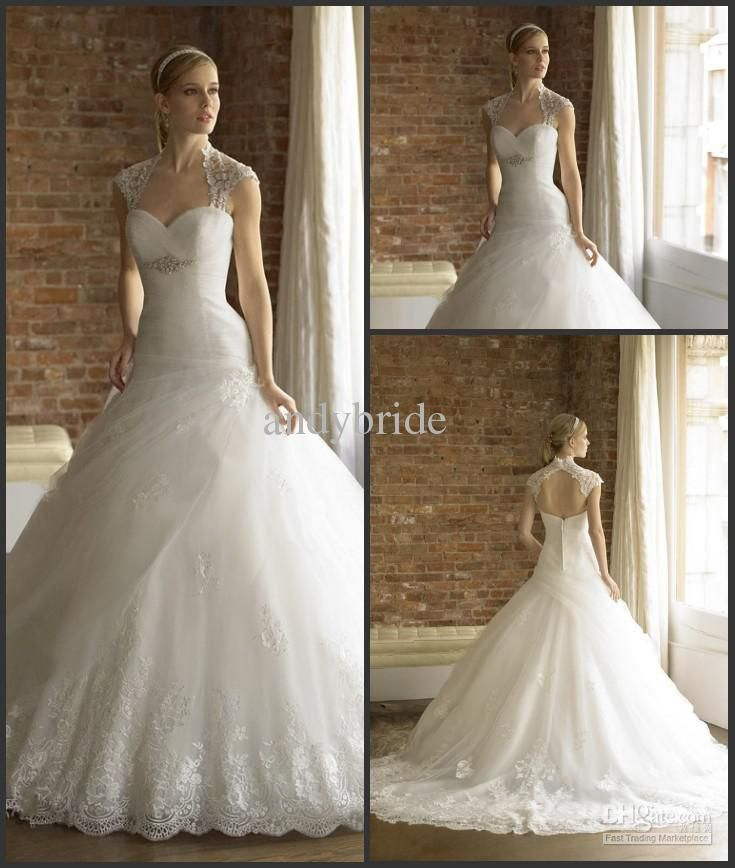 2013 Collection New Arrival Moonlight Bridal Wedding Dresses Gown Ball Gown  Applique Wedding Dress