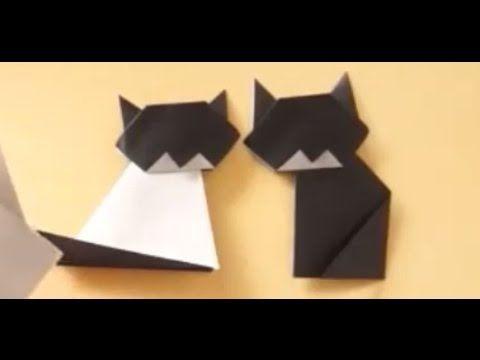 Cara Membuat Kucing dari Kertas Origami https://www.youtube.com/watch?v=w4y-T_jAjNw