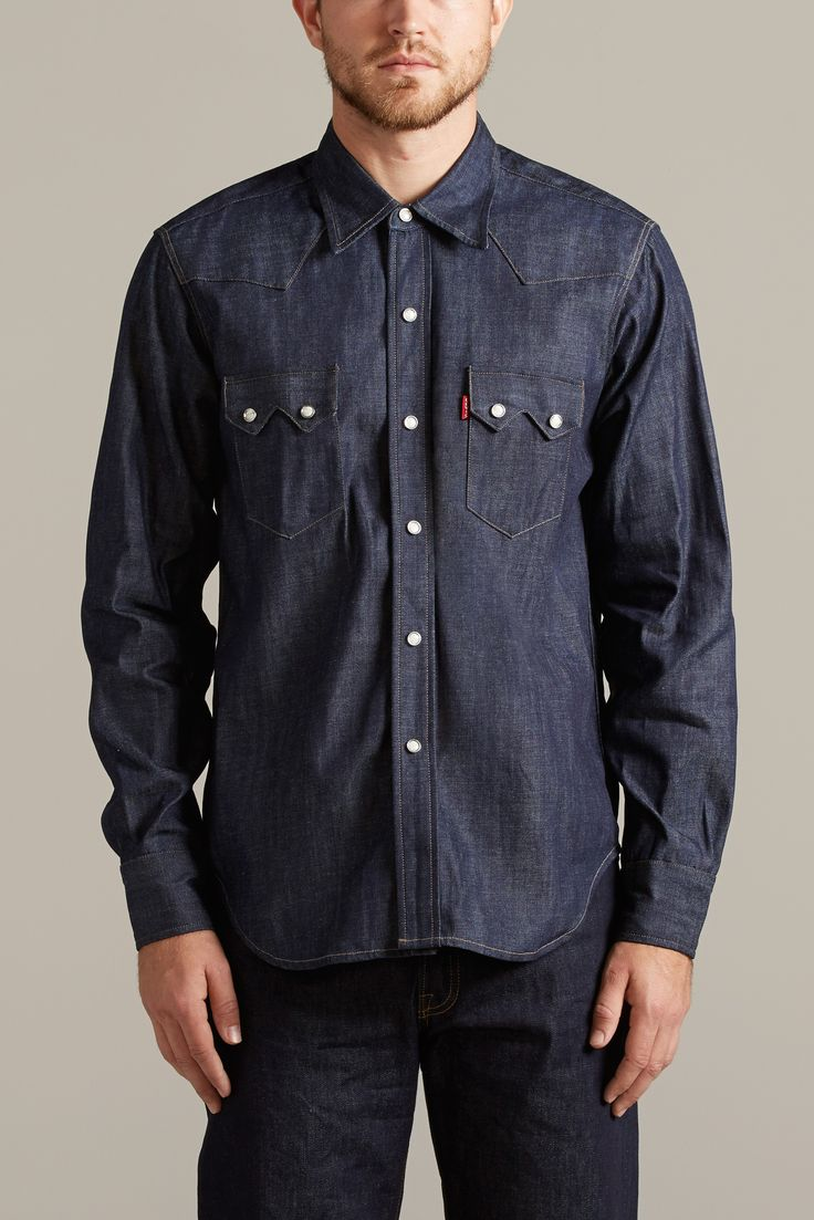 1955 SAWTOOTH DENIM SHIRT | Levi's Vintage Clothing