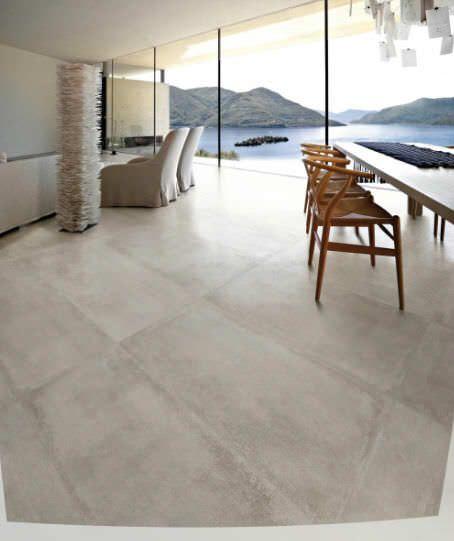 baldosa de suelo de gres porcelnico imitacin hormign nr cemento