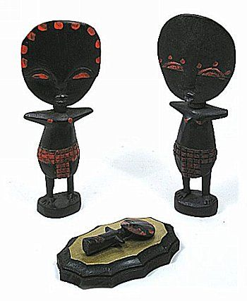 Hand carved in Ghana
