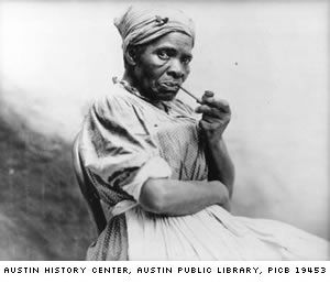 The Head Wrap: When enslaved Africans were captured, their hair was cut off, in order to begin the process of eradicating their sense of culture and identity. Description from pinterest.com. I searched for this on bing.com/images