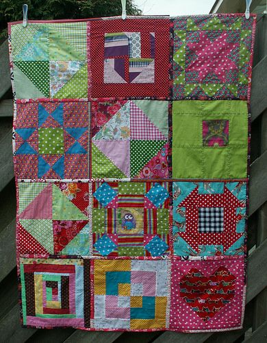 14 Orphan blocks quilt Soy Amado #2 the quilt will go to street children in Mexico City.