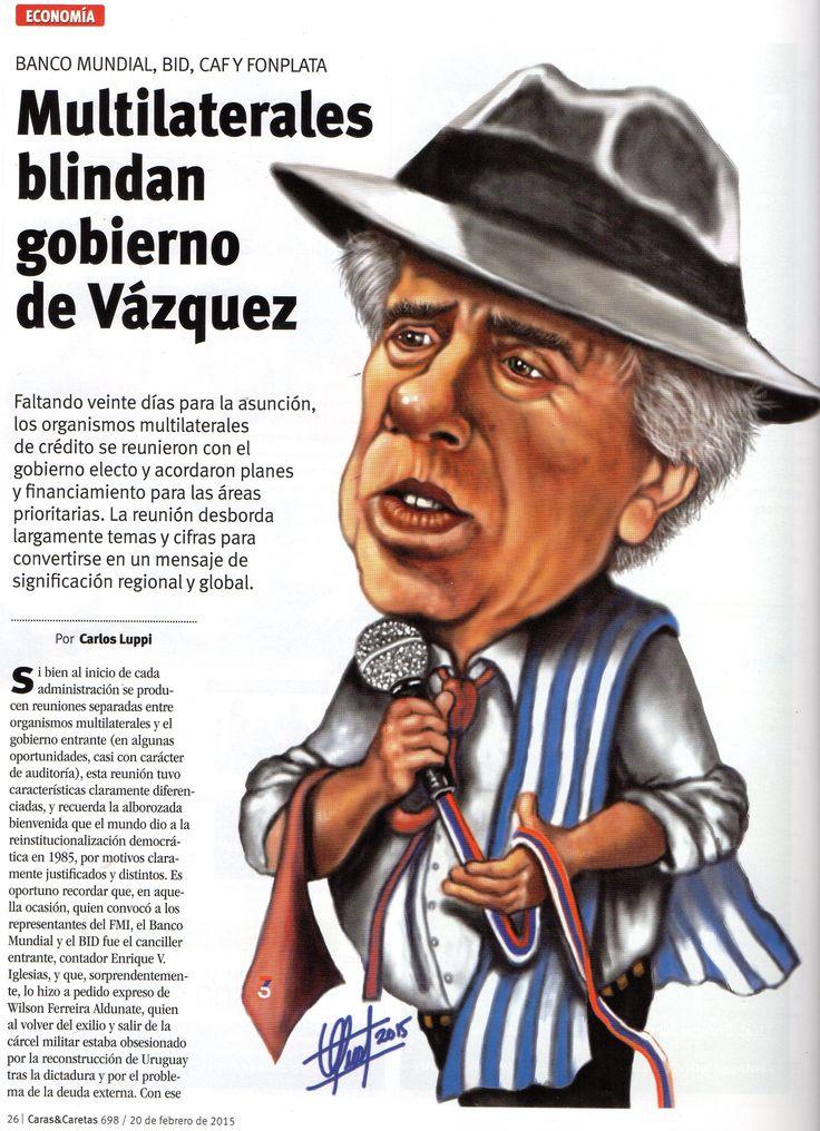 Caricatura del Dr. Tabaré Vázquez