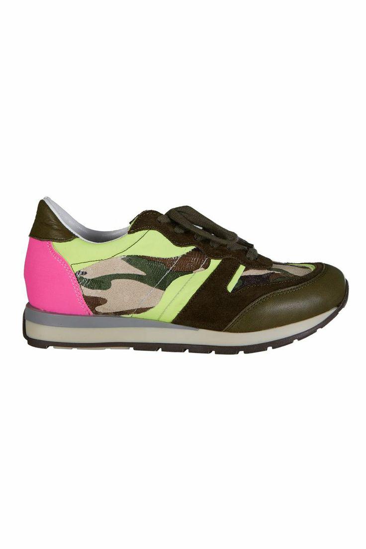 Pembe Sarı Neon Kamuflaj Spor Ayakkabı - Soldier   Trendy Topuk   Trendy Topuk   Ayakkabı   150 TL ve üzeri alışverişlerinizde Kargo ücretsiz