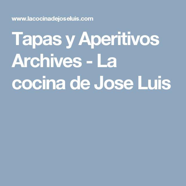 Tapas y Aperitivos Archives - La cocina de Jose Luis
