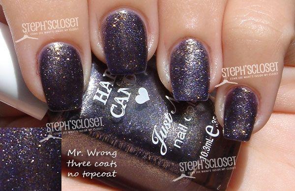 Hard Candy Mr. Wrong Nail Polish (love the name LOL)