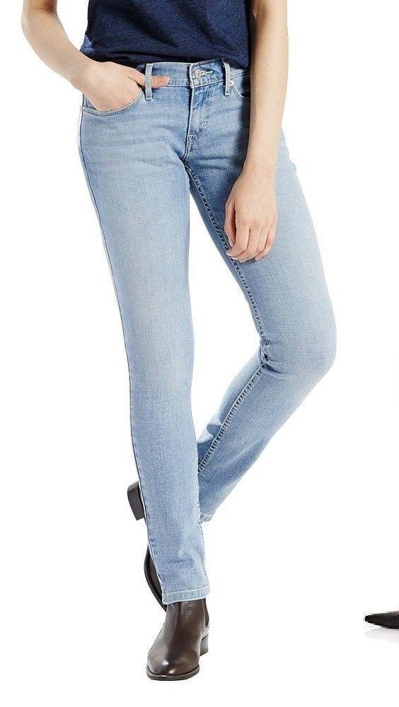 Levis 524 Womens Slim Skinny Jeans Low Rose size 24 26 27 32 33 NEW  29.99 https://www.ebay.com/itm/263352797618