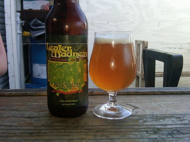 """Leafer Madness"" from Beer Valley Brewing Company 