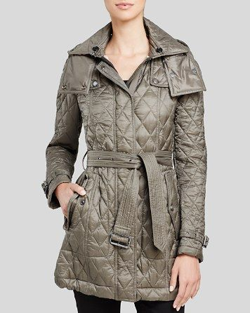 $Burberry Finsbridge Long Quilted Coat - Bloomingdale's