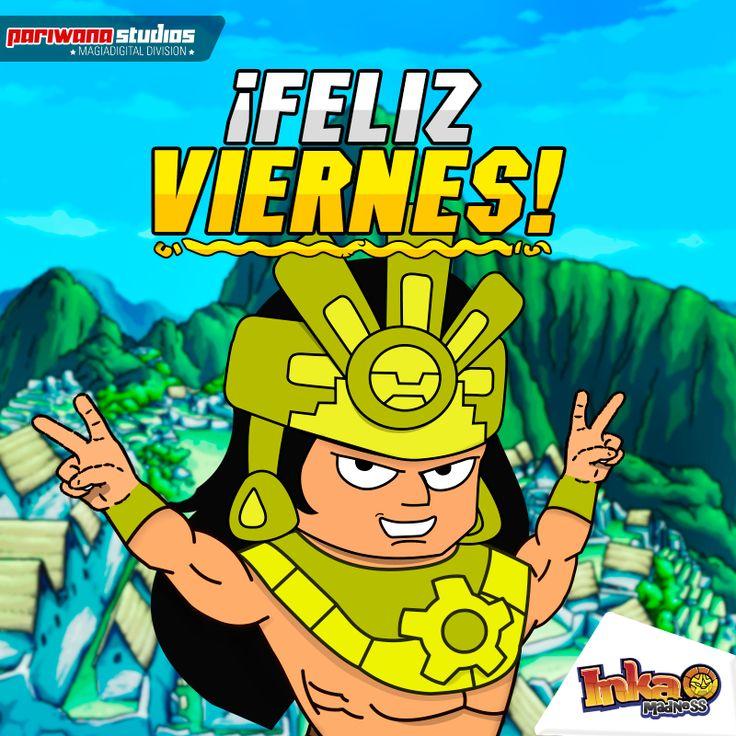 Feliz Viernes / Happy Friday! - #inkamadness #games #apps #App #peru #windows8 #videogames #incas #inca