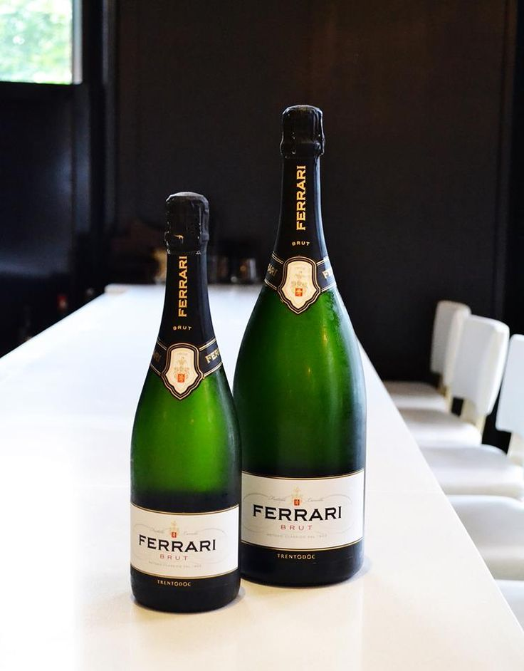Fair warning: You may never drink prosecco again after tasting this refreshing sparkling wine from Ferrari Trento. It's crisp and pairs perfectly with seafood or can be enjoyed as an aperitif.