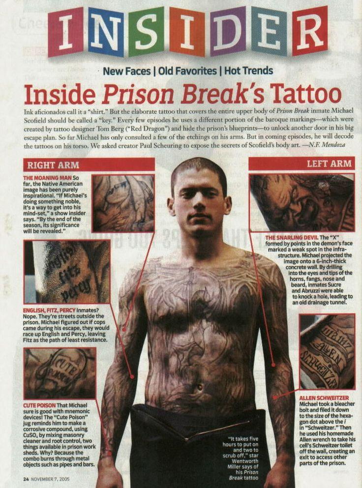 thread prison break tattoo 2 i tattoodonkey Prison Break And tattoo ...
