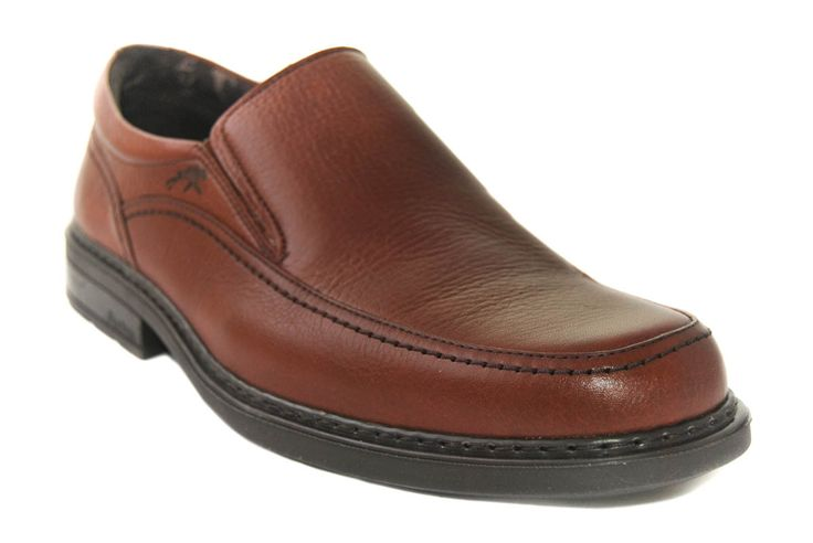 #Zapatos Fluchos marrón de hombre de la temporada otoño-invierno