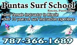 """Rincon PR - Puntas surf school began giving surf lessons in Rincon, PR way back in 2007, and prior to that we were known as simply """"Melissa's Surf Lesssons."""" For more information on all of Rincon Puerto Rico please visit www.surfrinconpr.com"""