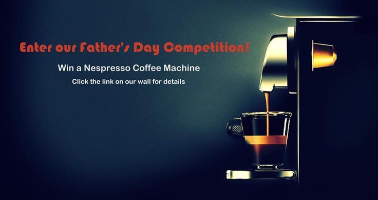 Enter our Father's Day competition! :)