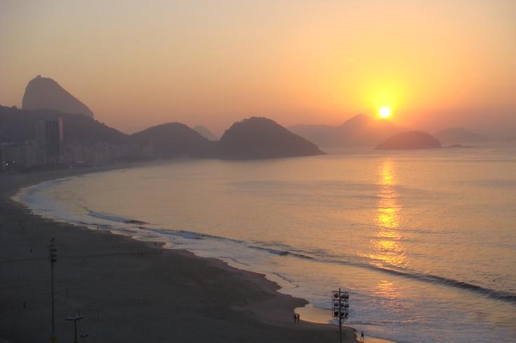 Copacabana at 6 am