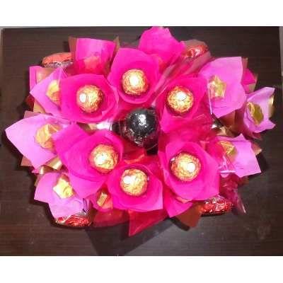 Bombones Caseros, Flores, Champagne San Valentin, Enamorados - $ 650,00 en MercadoLibre