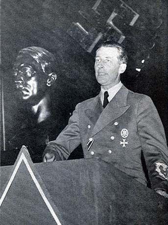 Hans Fritzsche, Nazi Defendant in the Major War Criminal Trial in Nuremberg