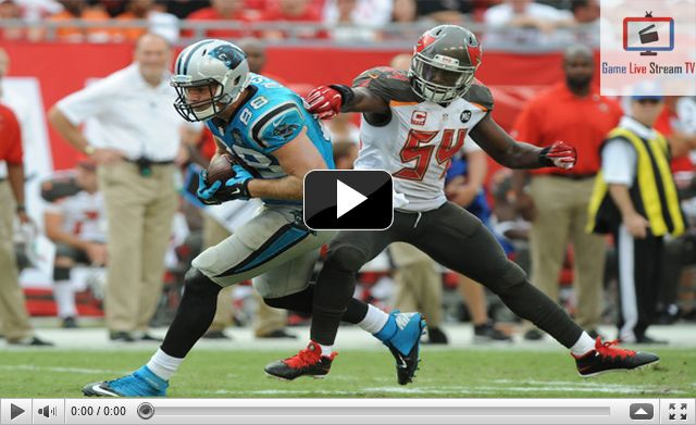 Buccaneers vs Panthers Live NFL Streaming Today NFL 2016. Enjoy Sunday Night football Buccaneers vs Panthers game tonight Live match on TV channel ESPN, NBC