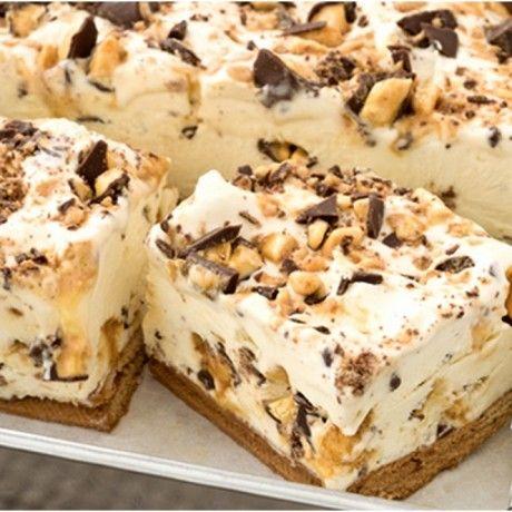 4 Ingredient Choc Honeycomb Slice