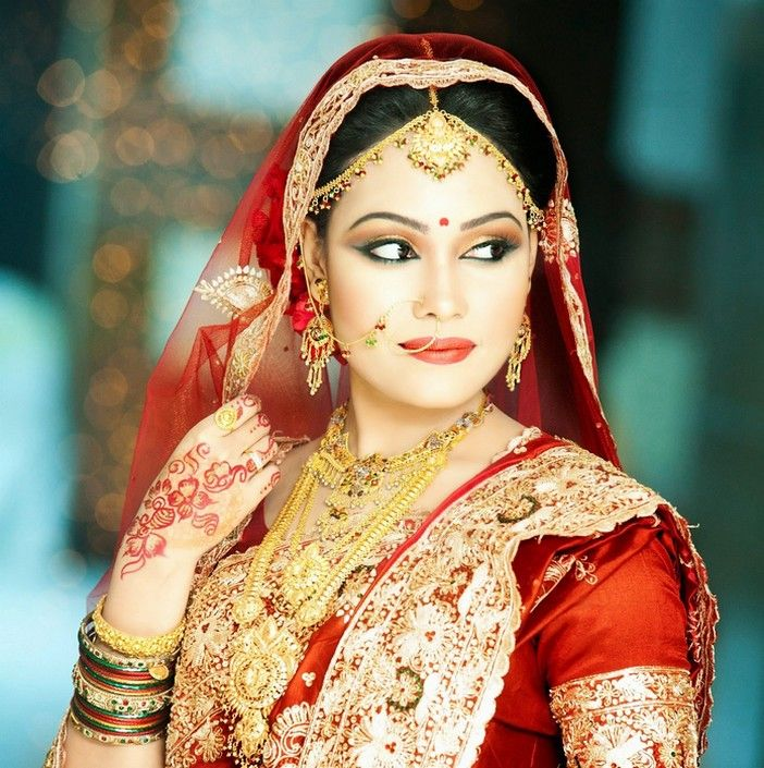 Stylish Bridal Nose Pin Jhumar For Bride