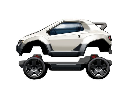 What if designing your own electric vehicle was as simple as picking out the parts and plugging them together? Trexa is aiming to make that dream a reality as they unveil the world's first fully-electric vehicle development platform. This svelte all-wheel