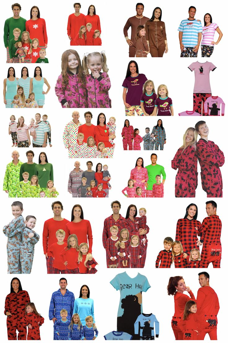 Matching family pajamas for Christmas or anytime! These are the best places to find them for everyone in the fam, including dogs!
