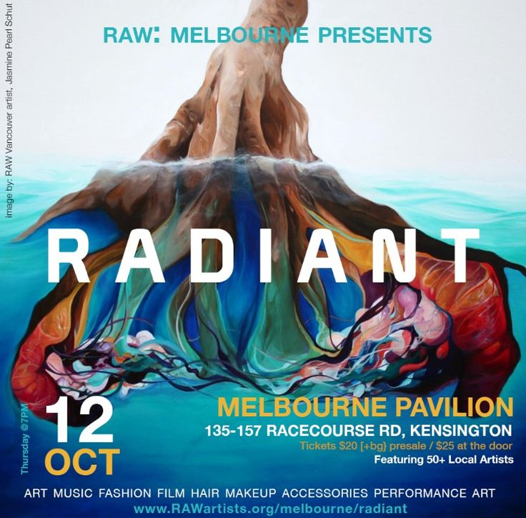 RAW MELBOURNE PRESENTS RADIANT