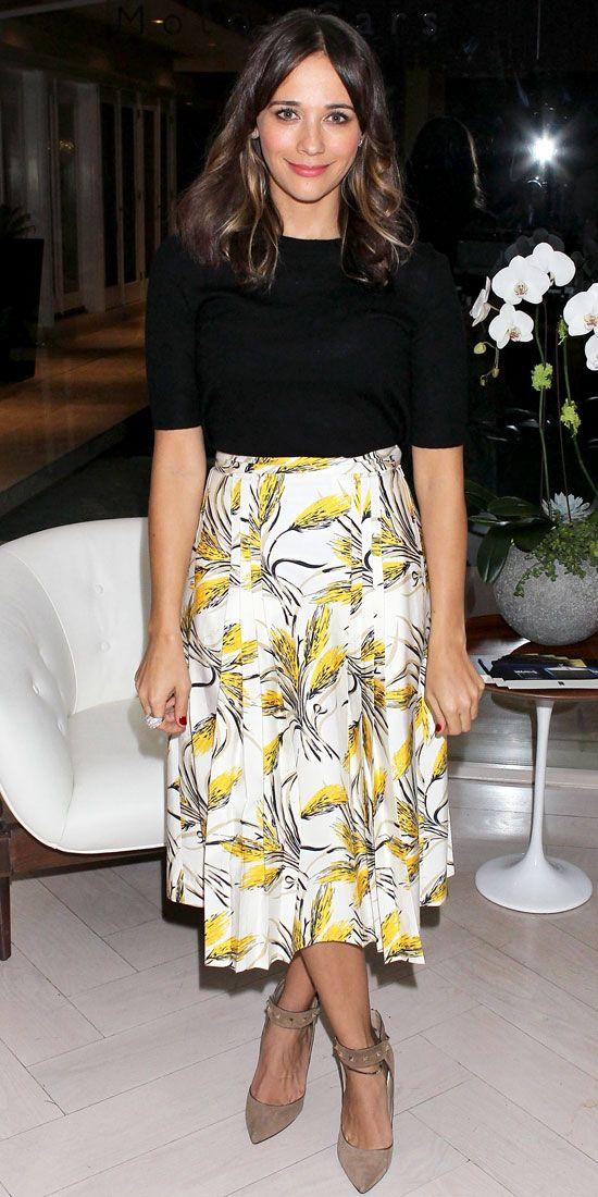 Look of the Day: November 30, 2012 - Rashida Jones : InStyle.com