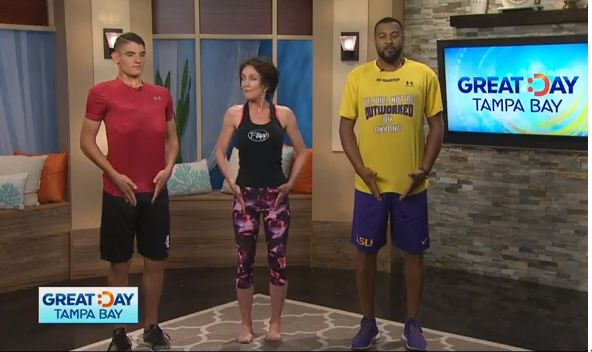 Teresa Tapp is the go to for easy to do work out routines at your home or office. Thousands of people who are committed to Teresa Tapp's work outs have amazing testimonies and their before and after pictures are unbelievable. For more information go to t-tapp.com
