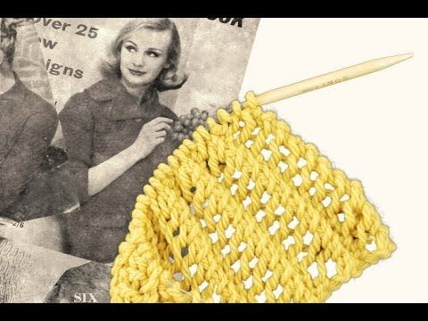 How to Knit a Scarf -- Bubble Wrap Knit Scarf Pattern - YouTube