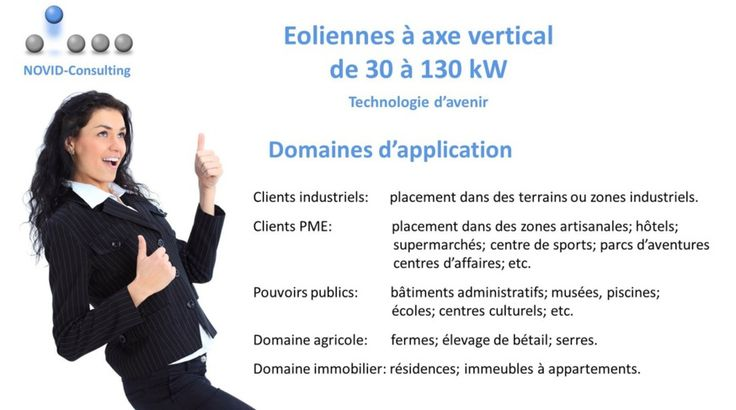 NOVID-Consulting - Eolienne à axe vertical