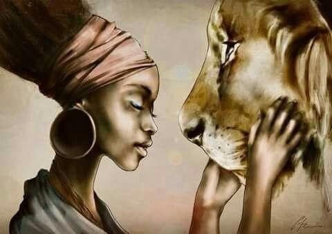 Lion _ belleza descripcion grafica