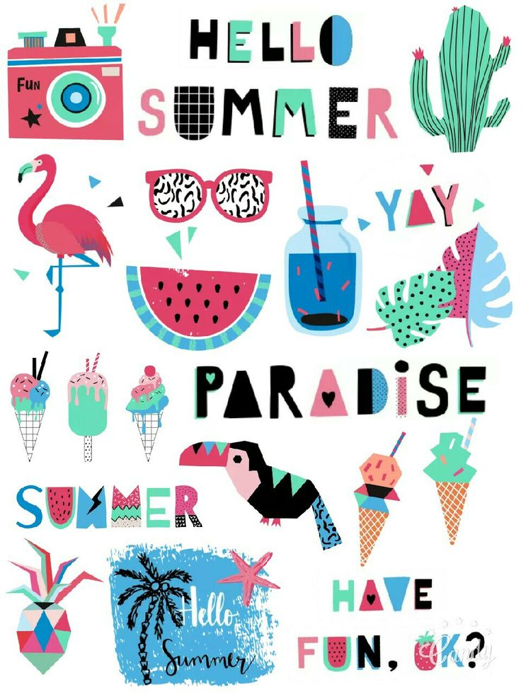 My Paradise Free Stickers Printable…