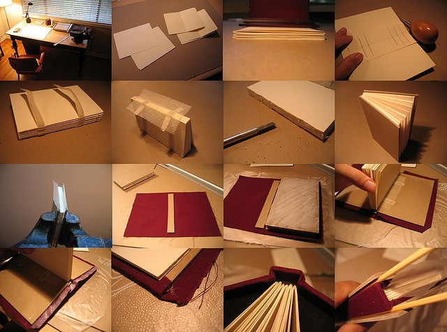 How to make your own signature notebook