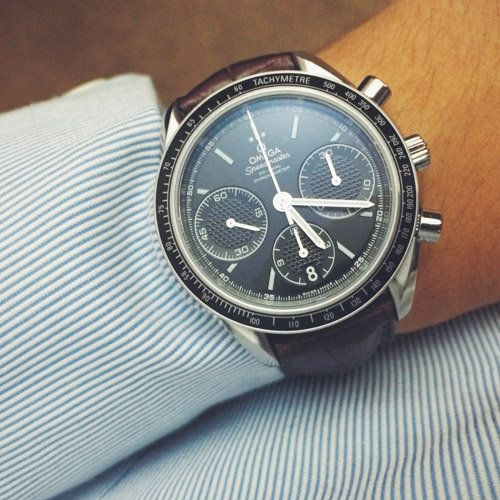 FS: Omega Speedmaster Racing Co-axial Column Wheel Chronograph cal. 3330 black MINT Condition Image 15