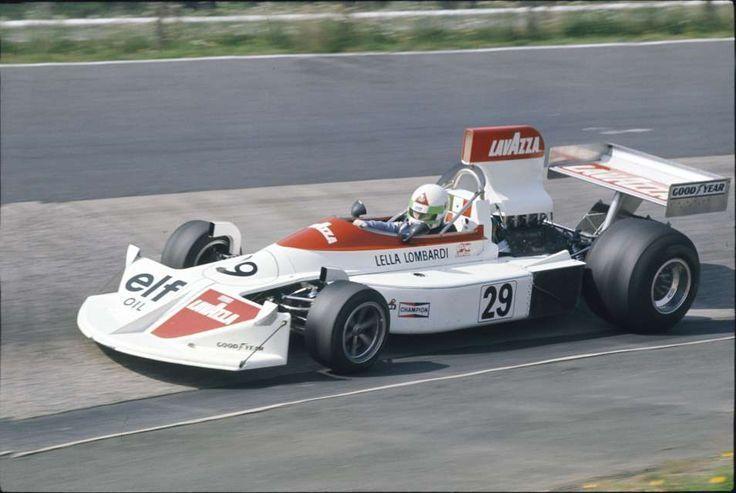 Lavazza March (Lella Lombardi) March 751 - Ford-1975 GP Niemiec- 7º pos.