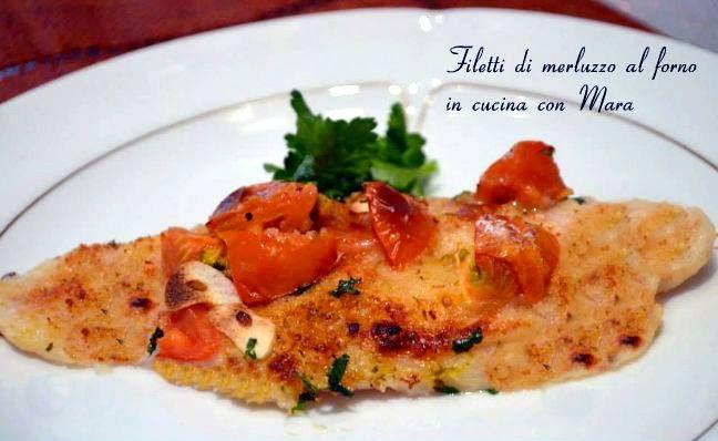 Filetti di merluzzo al forno