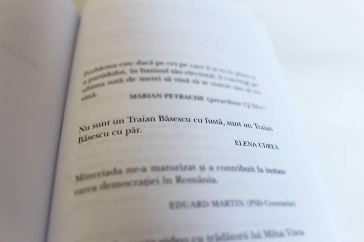 """""""Nu sunt un Tran Basescu cu fusta, sunt un Tran Basescu cu par"""", din """"Noi vorbim, nu gandim"""""""