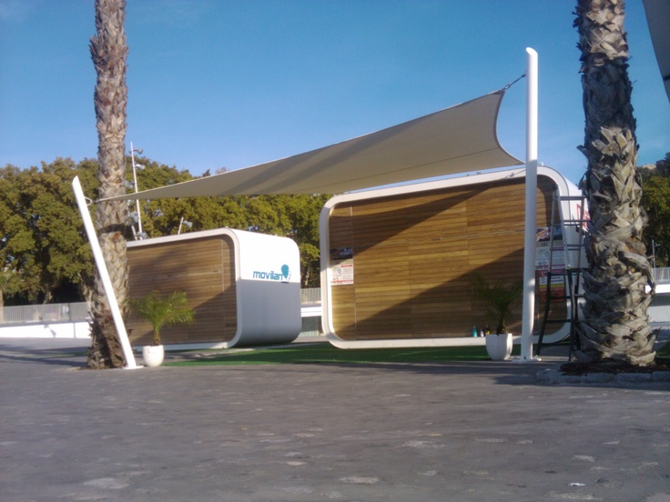 Realisation for the ´casita´ in the port of Malaga